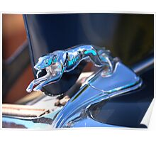 1934 Ford Fordor Greyhound Hood Ornament Poster