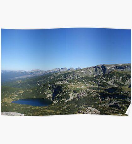 Rila mountain Poster