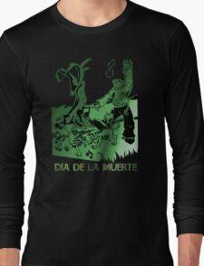 Dia De La Muerte (Day Of The Dead) Long Sleeve T-Shirt