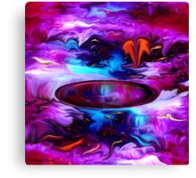 Down Deep Inside - Abstract 32+ wall Art + Products Design  Canvas Print