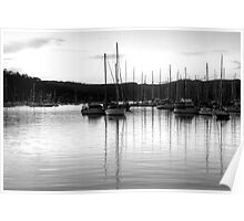 Monochrome Reflections #2 - Newport, Sydney - The HDR Experience Poster
