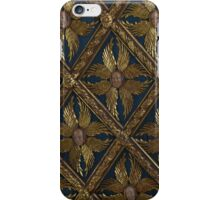 Faces on old ceiling in Venice iPhone Case/Skin