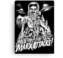 MARX ATTACKS! Canvas Print