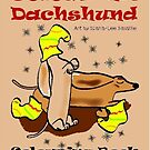 Colour me Dachshund by Diana-Lee Saville