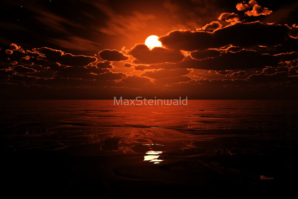 Moon Water by MaxSteinwald