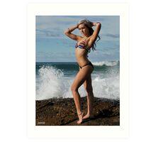 2011 swimsuit calendar - jaimie 3 Art Print