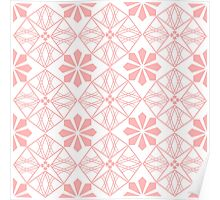 Seamless geometric pattern  Poster