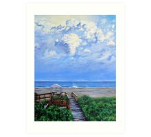 'The Beach at Wild Dunes (After the Storm)' Art Print