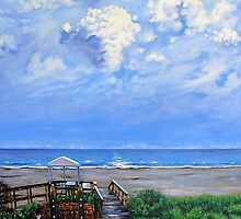'The Beach at Wild Dunes (After the Storm)' by Jerry Kirk