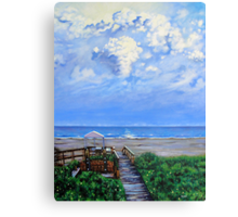 'The Beach at Wild Dunes (After the Storm)' Canvas Print