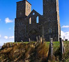 Reculver Towers by Geoff Carpenter