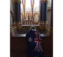 praying for a worldcup Photographic Print
