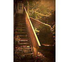The Courtyard - (Mangiacake Panini Shoppe) Photographic Print