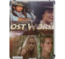 Lost World Poster iPad Case/Skin