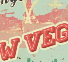 New Vegas Postcard Sticker