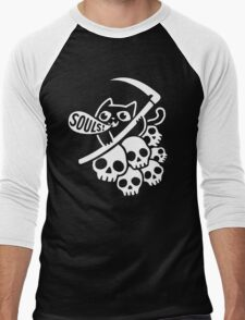 Cat Got Your Soul? II Men's Baseball ¾ T-Shirt