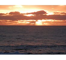 The Sea Ranch - Sunset Photographic Print