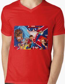 ENGLAND ROCKS Mens V-Neck T-Shirt