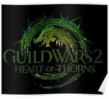 Guild Wars 2 Heart of Thorns Poster