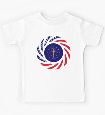 Indiana Murican Patriot Flag Series Kids Tee