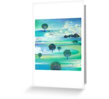 """Multiple Horizons"" Greeting Card"