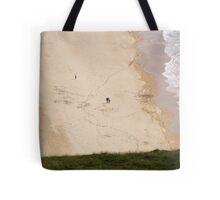 Walk on the beach - Near Malin Head in North Donegal Ireland Tote Bag