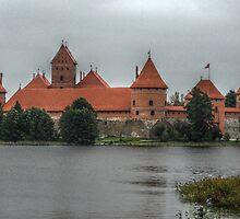 Castle of TRAKAI, wall by Antanas