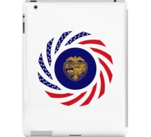 Oregon Murican Patriot Flag Series iPad Case/Skin