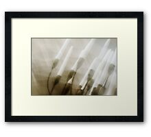 Whos There... Framed Print