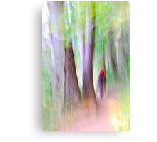 Not little red ridding hood Canvas Print