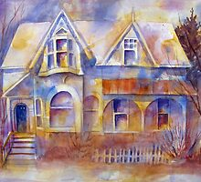 The Grand Dame of Cabbagetown by bevmorgan