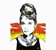 Audrey and necklace. Unisex T-Shirt