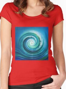 The Return Wave Women's Fitted Scoop T-Shirt