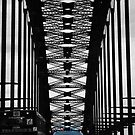 Under the Harbour Bridge by oddoutlet