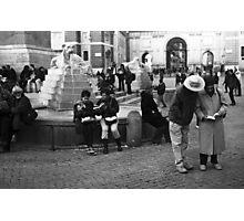 Rome, Piazza del Popolo Photographic Print