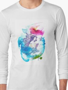 """""""With the Head in the Clouds"""" from the series: """"Angels of Protection"""" for Kids Long Sleeve T-Shirt"""
