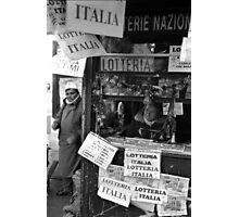 Lotteria Italia Photographic Print