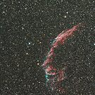 The Large Veil Nebula by Sylvain Girard