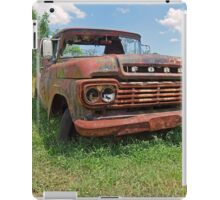 The Old Red Truck iPad Case/Skin