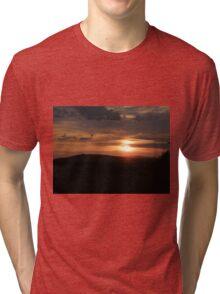 Donegal sunset Tri-blend T-Shirt