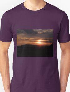 Donegal sunset Unisex T-Shirt