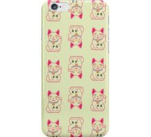Good Luck Cat iPhone Case/Skin
