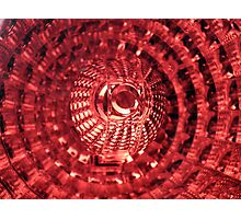 Tail light Photographic Print