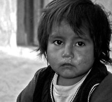 Bolivian Child by Thomas Pearson