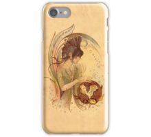 """""""THE PISCES"""" - Protective Angel for Zodiac Sign iPhone Case/Skin"""