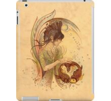 """THE PISCES"" - Protective Angel for Zodiac Sign iPad Case/Skin"