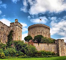 The Round Tower ~ Windsor Castle (The Queen's Residence) by Clive