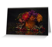 flowers & ... Greeting Card