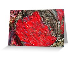Brush Strokes Greeting Card