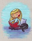 Peaceful Reading by Ine Spee